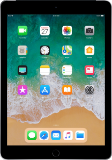 Apple iPad 9.7 (2018) Wi-Fi + Cellular Tablet Resimleri