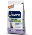 Advance Hairball Sterilised Hindili 1.5 kg resim