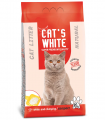 Cats White Natural Kokusuz 10 kg resim