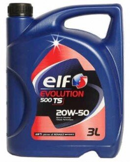 Elf Evolution 500 TS 20W-50 3 litre Motor Yağı