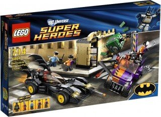 LEGO DC Super Heroes 6864 Batmobile and the Two-Face Chase  Resimleri