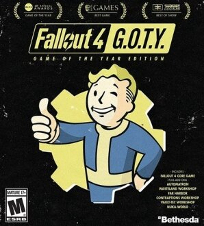 Fallout 4 Game of the Year Edition PS4 Game of the Year Edition Oyun