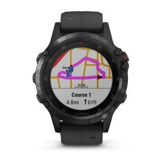Garmin Fenix 5 Plus Sapphire Black with Black Band Resimleri