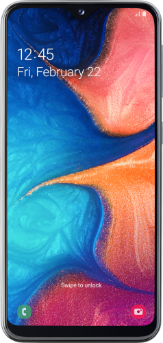 Samsung Galaxy A20e photo