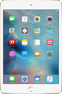 Apple iPad Mini 4 128 GB (MK9N2TU/A, MK9Q2TU/A, MK9P2TU/A) Tablet