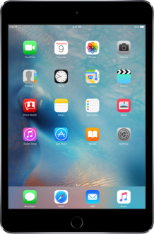Apple iPad Mini 4 Wi-Fi + Cellular 128 GB / 4G (MK782TU-A, MK772TU-A, MK762TU-A) Tablet