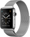 Apple Watch Series 2 (42 mm) Paslanmaz Çelik Kasa ve Milano Loop resim