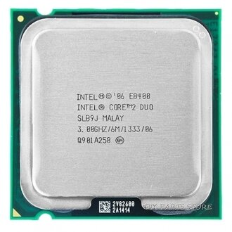 Intel Core 2 Duo E8400 CPU Photos