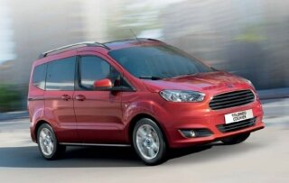 2017 Ford Tourneo Courier 1.5 TDCi 75 PS Trend Resimleri